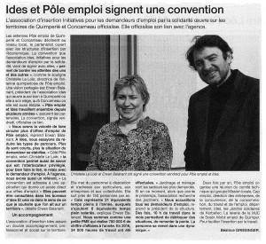 Article extrait du Ouest-France du 11/03/17